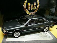 AUDI v8 type d11/4c quattro berline 1988 - 1994 Gris Grey Met Bos resin 1:18