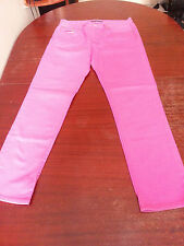 ralph lauren challenge cup blue labe hot pink womens jeans size 30 thompson 650