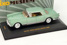 Facel Vega Excellence Baujahr 1960 grün metallic 1:43 Ixo