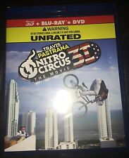 Travis Pastrana Nitro Circus The Movie 3D blu-ray+DVD NEW SEALED