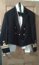 SAN- SOUTH AFRICAN NAVY OFFICERS MESS DRESS UNIFORM LT COMMANDER'S