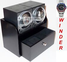 "Genuine ""BOXY"" Brick Dual Automatic Watch Winder System; model: 2B2-Brilliant!"