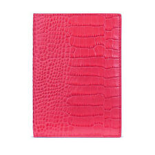 SMYTHSON HOT PINK MARA PASSPORT COVER  - New