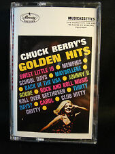 CHUCK BERRY'S GOLDEN HITS-cassette-JOHNNY BE GOOD/MAYBELLENE & others