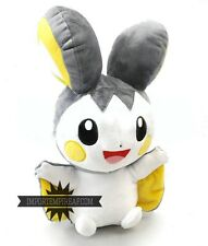 POKEMON EMOLGA 30 CM PELUCHE ENORME nero bianco plush Emonga 587 doll ds big x