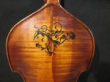 Copy Old finished Baroque style SONG maestro 5strings inlay back violin4/4#10072