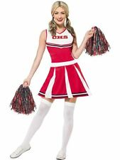 Cheerleader Costume, UK Size 4-6, Icons Model Fancy Dress