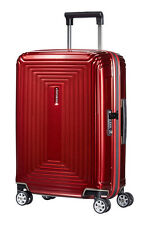 SAMSONITE ´NEOPULSE´ 4-ROLLEN TROLLEY SPINNER 55 / 20 Metallic Red UVP 219,-€