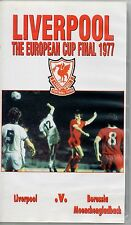 LIVERPOOL V BORUSSIA MEENCHENGLADBACH EUROPEAN CUP FINAL 1977 VHS VIDEO