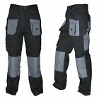 Baratec Mens Work Wear Trousers Combat Cargo knee pad pockets 30 - 44 Workman