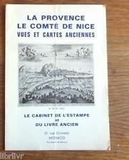 Catalogue vente VUES ET CARTES ANCIENNES PROVENCE ET COMTE DE NICE