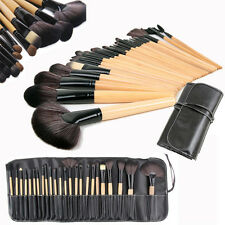 24 Piece Professional Make Up Brush Set Foundation Brushes Kabuki Brushes