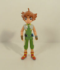 "4"" Unknown Anime Manga Girl Action Figure Beyblade or Digimon Digital Monsters"
