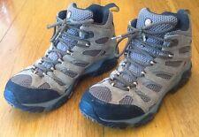 Merrell Moab Mid Hiking Boots #J88623-Mens US Size 10 M-Waterproof-Earth- NICE!!