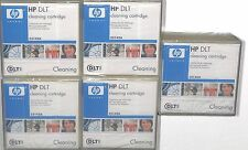 LOT 5X HP DLT Cleaning Cartridge C5142A NEW SEALED
