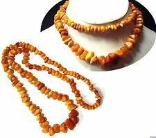 Bernstein Kette - natural baltic butterscotch Amber necklace__39,2 Gramm