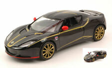 Lotus Evora Special F1 Edition 2012 Black With Gold 1:24 Model MOTORMAX