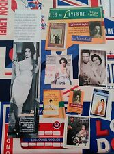 recortes clippings liz taylor elizabeth paul newman