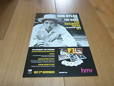BOB DYLAN - Publicité de magazine / Advert !!! THE BASEMENT TAPES !!! HMV