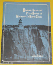 Historic Sites & Place Names of Minn North Shore 1974 Lake Superior Nice Pics!