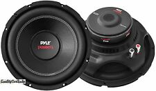 PAIR of NEW Pyle PLPW8D 8'' 800 Watt Dual 4 Ohm Subwoofers PAIR