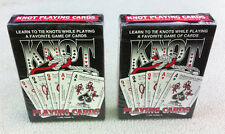 Survival Knot Playing Cards Learn 50+ Ties Camping Survival Emergency Boy Scouts