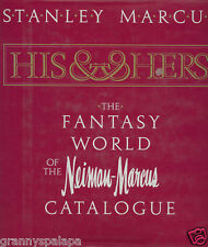 1982 Neiman Marcus Fantasy World Catalog *Signed* Mail Order Texas Book His & He