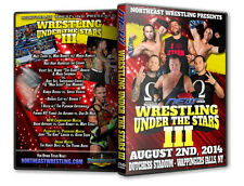 NEW Wrestling: Under the Stars 3 DVD, The Hardy Boys Young Bucks WWE ROH PWG