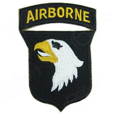 US 101ST AIRBORNE SCREAMING EAGLES PATCH WHITE TONGUE