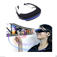 Private Theatre Cinema Video Glasses - Mp3 Mp4 Movies 52' Inch Virtual Screen