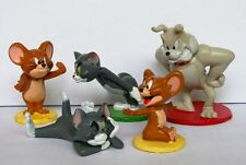 Tom & Jerry Animation Figure Collection Toys Set of 5pcs NEW UK Tom And Jerry