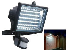 NEW 60 LED PIR MOTION SENSOR SECURITY FLOODLIGHT LAMP GARDEN OUTDOOR SHED LIGHT