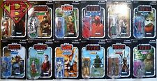 Star Wars The Vintage Collection Figure Set of 12 Unpunched Cards Ahsoka 2012