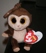 Ty Beanie Boo's Key Clip ~ AUDREY the Monkey ~ European Exclusive ~ NEW IN HAND