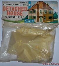 Vintage Bagged Airfix Kit Detached House HO & OO Gauge Scale UnBuilt Model Kit