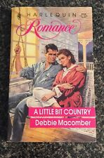 A Little Bit Country - Debbie Macomber (Harlequin Romance No. 3038) 1990 (PB)