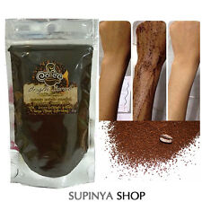 COFFEE BODY SCRUB REDUCE ACNE STRETCH MARKS CELLULITE No Chemical