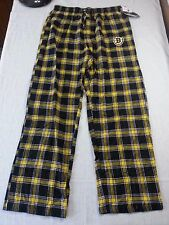 Concepts Sport Sleep Pants Boston Bruins in Yellow Plaid - Large - NWT R$30.00