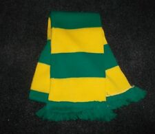 HORSE RACING SCARF GREEN AND YELLOW