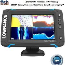 Lowrance Elite-7 Ti Touch High-Resolution Display Chirp Fishfinder/Chartplotter