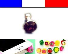 Cache anti-poussière jack universel iphone protection capuchon bouchon Diamant 4