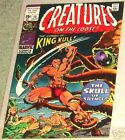 CREATURES ON THE LOOSE 10 MARVEL HORROR 1971 1st KULL VF