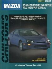 MAZDA mx-3 mx-5 mx5 mx-6/Ford Probe 2.0 16v e 2.4 v6 1990-1998 Manuale di Officina
