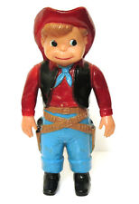Vintage Western Boy Cowboy Clockwork Wind Up Toy Marx 1960's