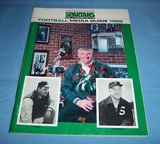 Michigan State Spartans Football 1988 Media Guide George Perles
