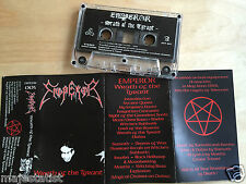 EMPEROR - Wrath Of The Tyrant demo MC 1997 RARE 1'ST PRESS