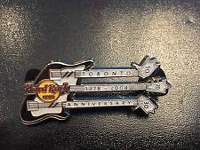 Hard Rock Cafe TORONTO 2008 30th Anniversary PIN  3N Guitar LE 500 - HRC #44218