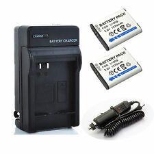 2x LI-90B LI-92B Battery + Charger for Olympus SH-50 SH-60 TG-1 TG-3 XZ-2 SP-100