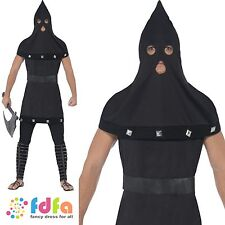 DUNGEON MASTER MEDIEVAL EXECUTIONER HALLOWEEN - mens fancy dress costume