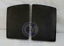 Vivid Black Speaker Grills Covers fit Mutazu 6 x 9 Speaker lids for Harley FLH